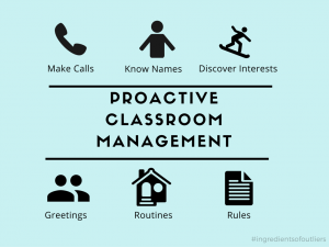 Setting Up Your Classroom for Success: Proactive Classroom Management