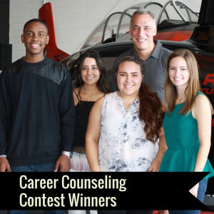 Career Counseling Contest Winners Soar with Mentor John Shufeldt